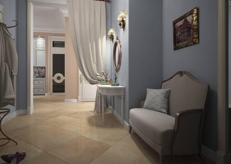 Дизайн проект квартиры в стиле эклектика: Коридор и прихожая в . Автор – Альбина Романова