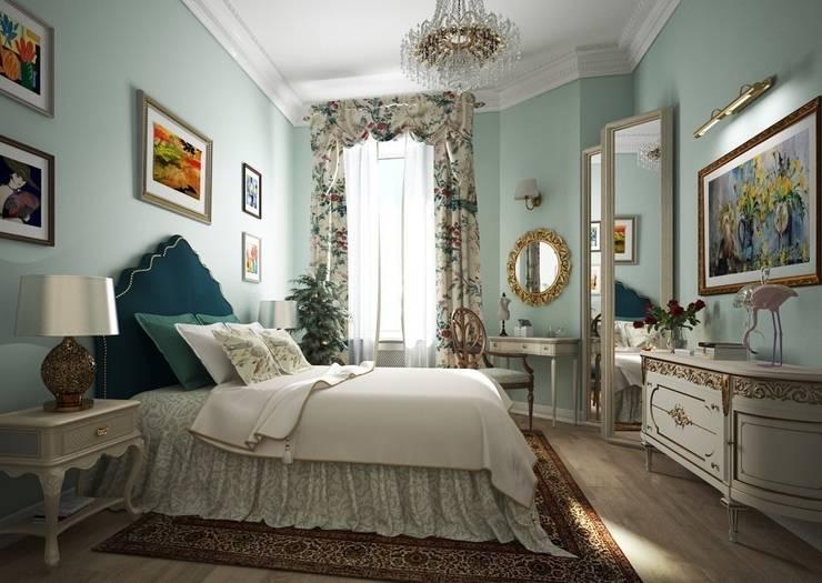 Альбина Романоваが手掛けた寝室