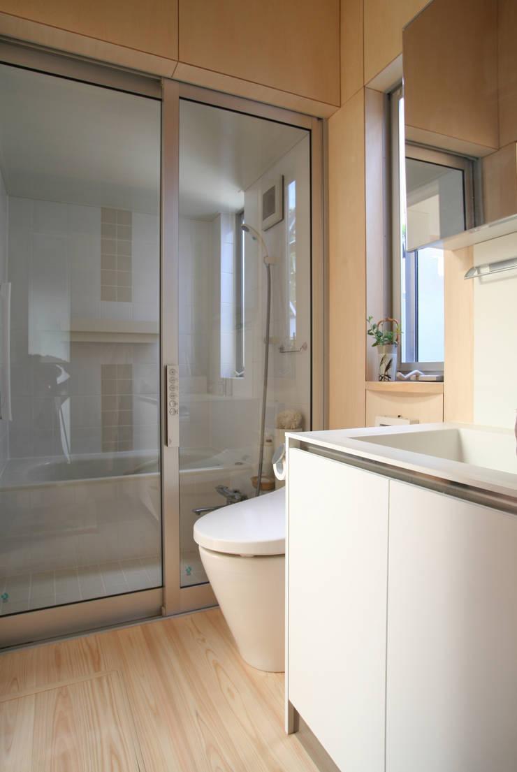 水廻り: ATS造家設計事務所が手掛けた浴室です。