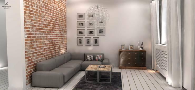 Salas / recibidores de estilo  por Artenova Design