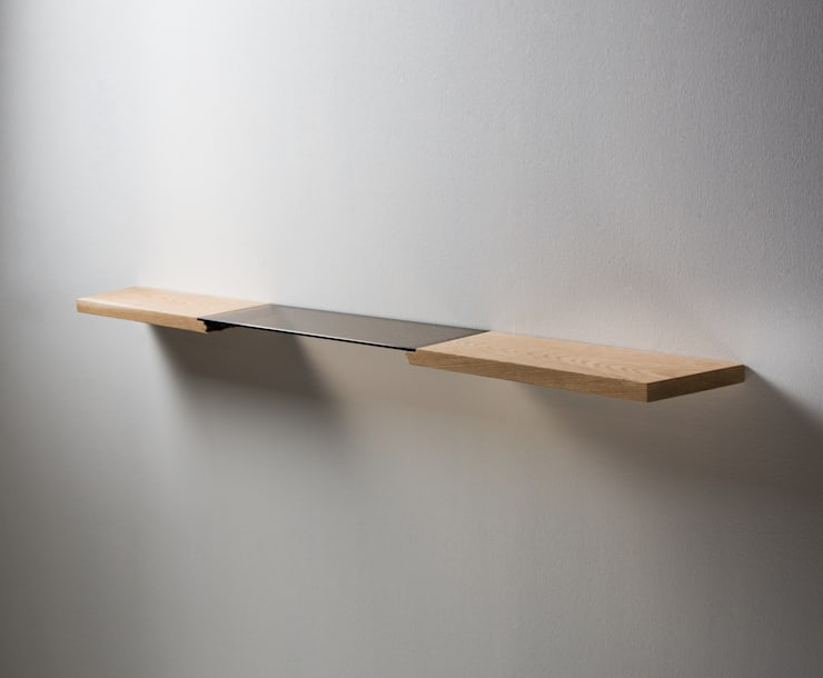 Broken : Floating Shelf: modern Living room by byJalmari