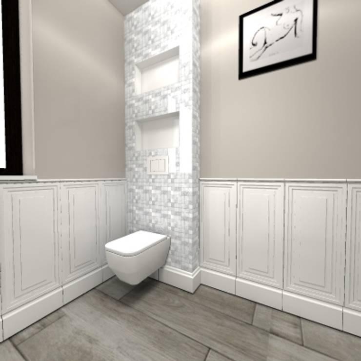 Łazienka w Angielskim Stylu: styl , w kategorii Łazienka zaprojektowany przez wyszomirska design
