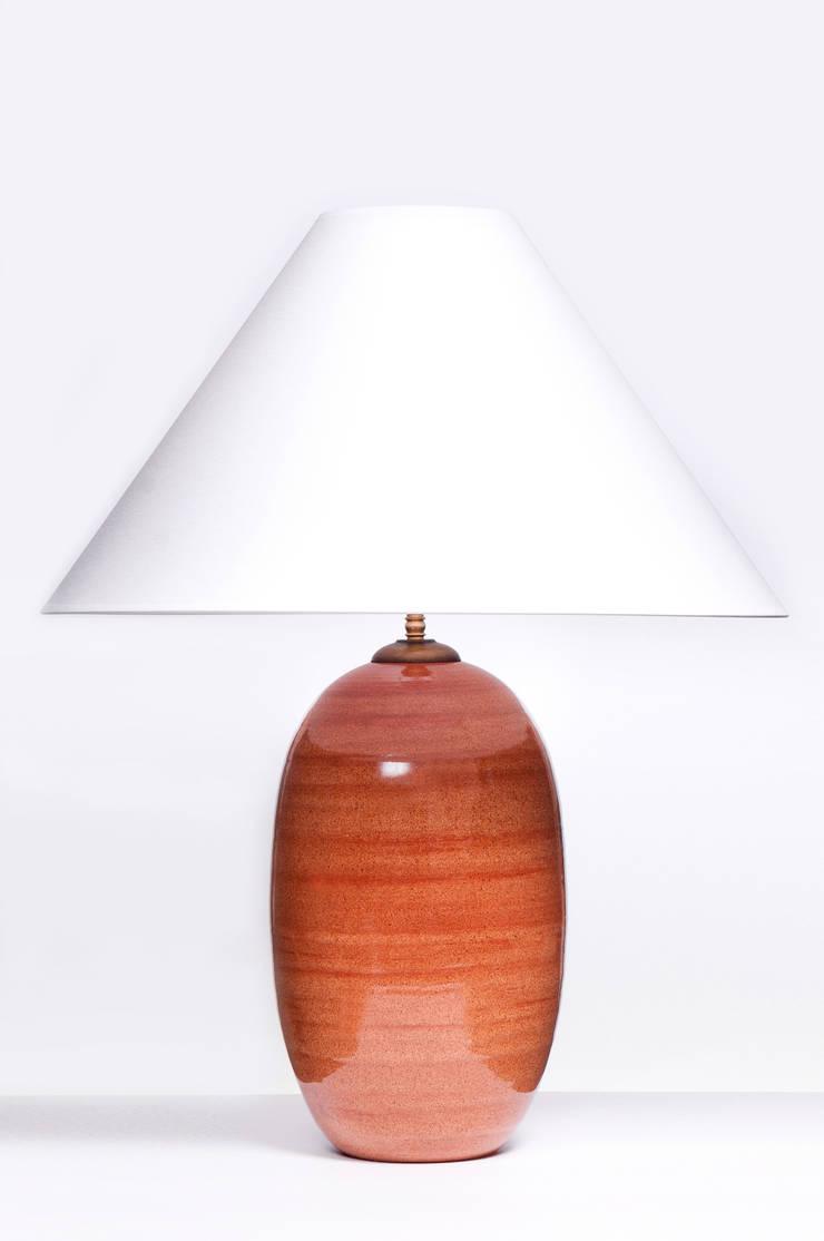 ACORN BRICK DECO: styl , w kategorii  zaprojektowany przez Peter Woodland Lamps,Nowoczesny