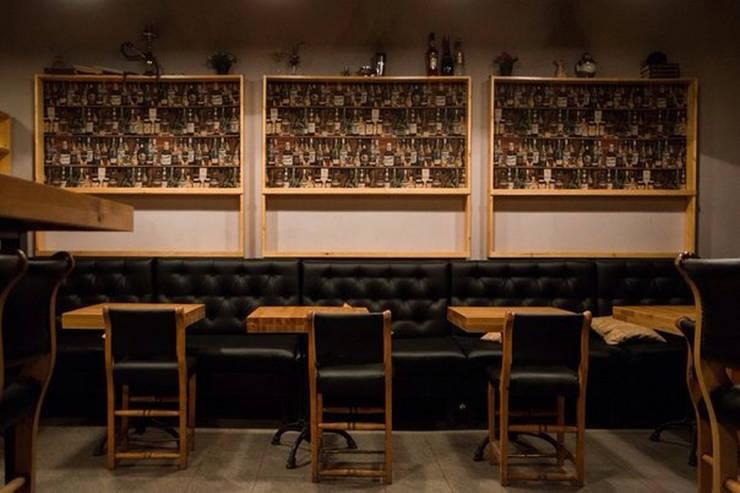 Коктейль-бар <q>IN100GRAMM</q> в г.Екатеринбурге: Бары и клубы в . Автор – Частный дизайнер и декоратор Девятайкина Софья, Модерн