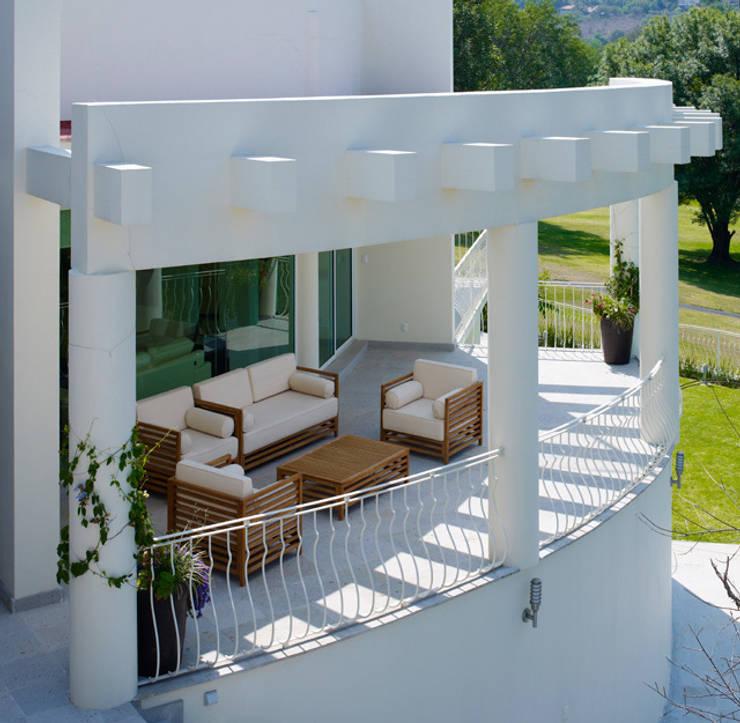 Terrasse de style  par Excelencia en Diseño