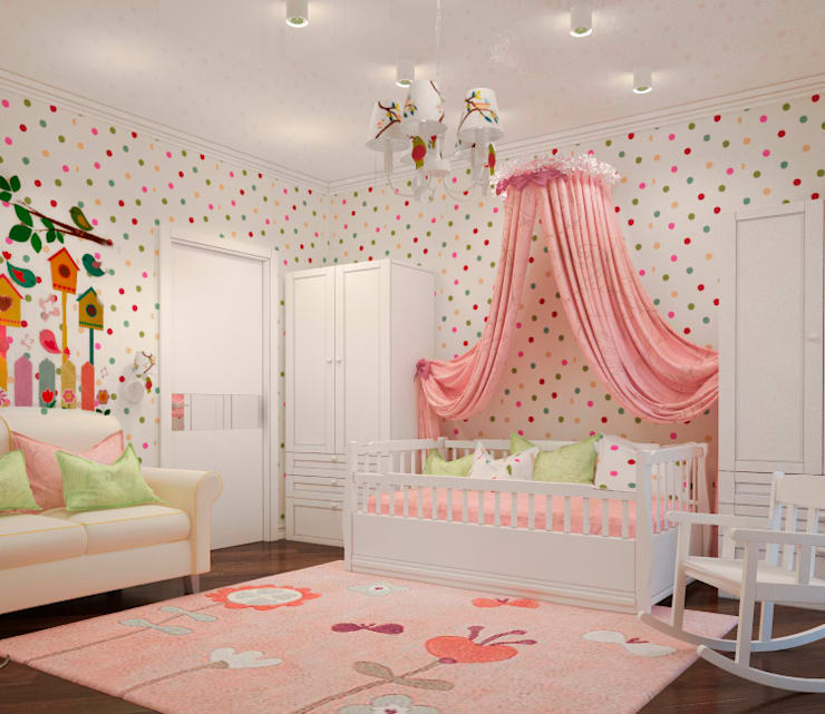 Recámaras infantiles de estilo  por Sweet Hoome Interiors