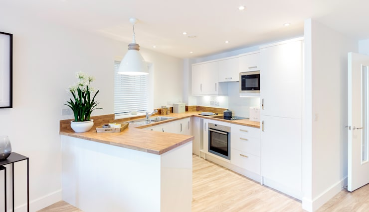 Cozinhas modernas por WN Interiors of Poole in Dorset
