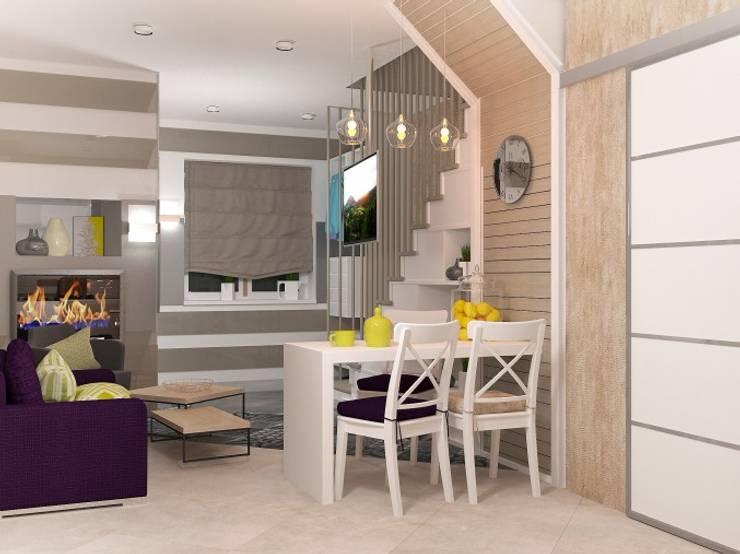 2х этажный дом: Кухни в . Автор – Мозжерина Марина