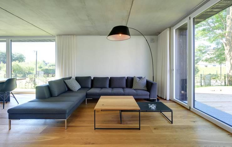 Гостиная в . Автор – Haus Wieckin