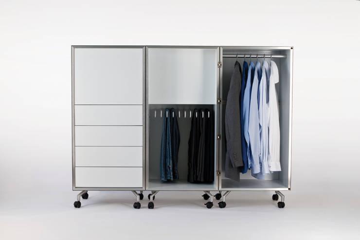 Moritz von Helldorff - Aluneed: minimalistische Schlafzimmer von Studio Moritz von Helldorff