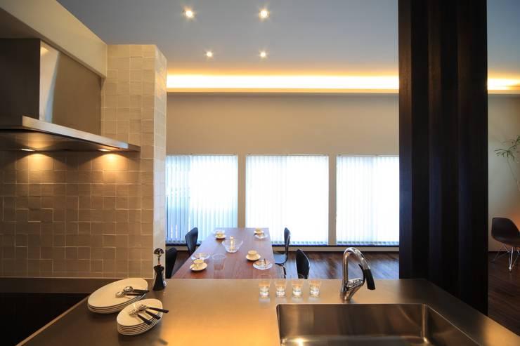 キッチン~ダイニング: MA設計室が手掛けたキッチンです。