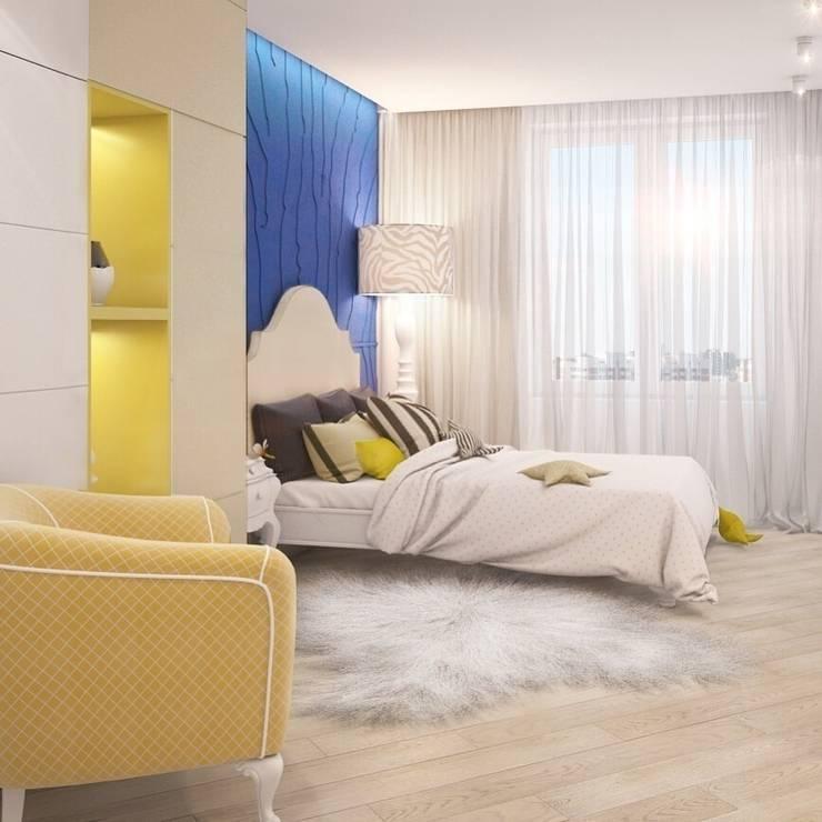 Синяя зебра : Детские комнаты в . Автор – E_interior