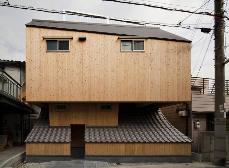 外観: 一級建築士事務所 東島鋭建築設計工房が手掛けた家です。,オリジナル