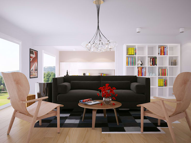 غرفة المعيشة تنفيذ olivia Sciuto