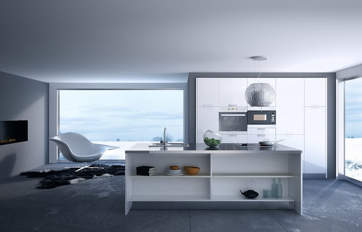 Poliform Kitchen: Cucina in stile  di olivia Sciuto