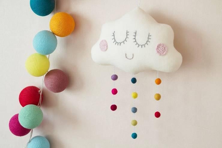 Handmade of Passion: eklektik tarz tarz Çocuk Odası