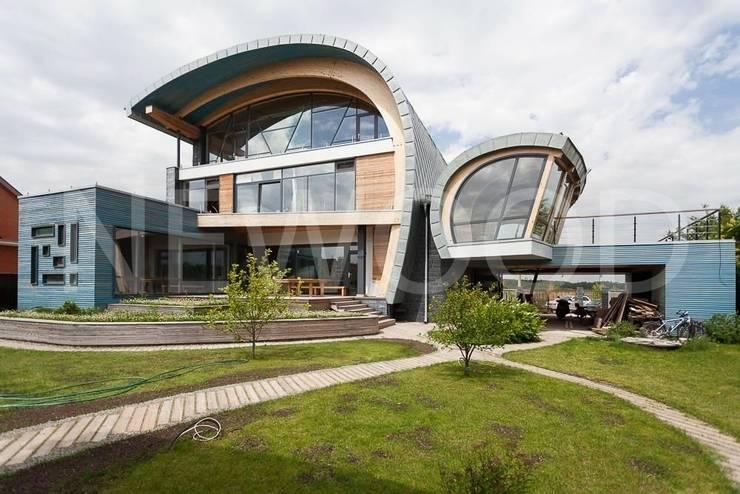 Sailor House: Дома в . Автор – NEWOOD - Современные деревянные дома