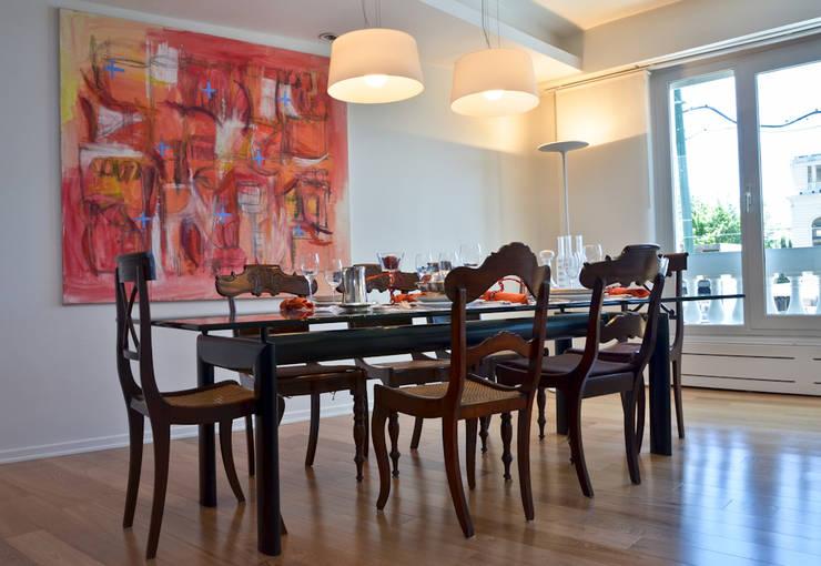 Piso en Palermo I: Comedores de estilo  por GUTMAN+LEHRER ARQUITECTAS