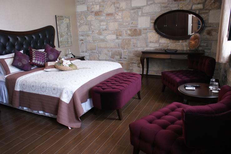 Griffon Boutique Hotel – Otel Oda No:11: kolonyal tarz tarz Yatak Odası