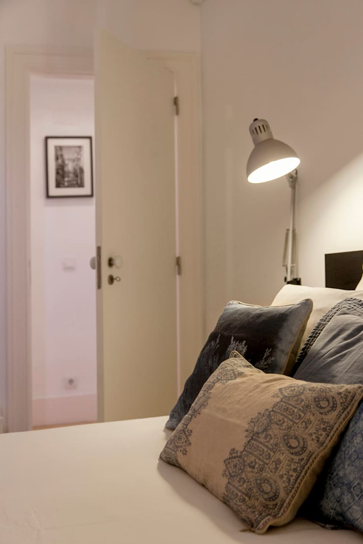 غرفة نوم تنفيذ Home Staging Factory