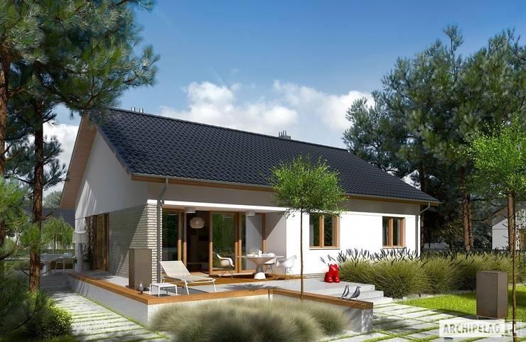 Projekt domu Swen II : styl , w kategorii Domy zaprojektowany przez Pracownia Projektowa ARCHIPELAG