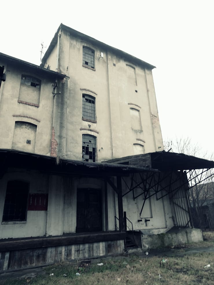 par FOORMA Pracownia Architektury Wnętrz Rustique
