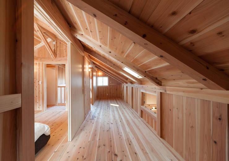 石井の住宅: 中飯賀業建築研究所が手掛けた子供部屋です。