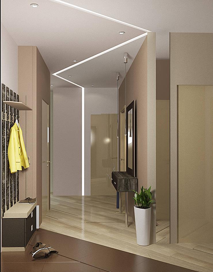 4х комнатная квартира: Коридор и прихожая в . Автор – Мозжерина Марина