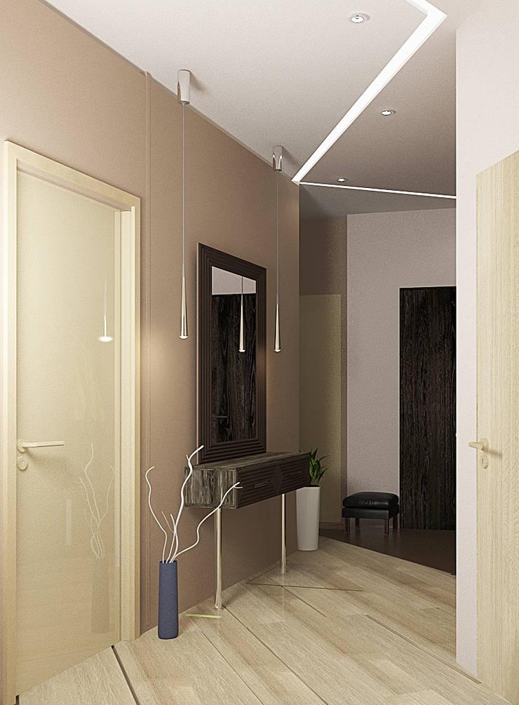 4х комнатная квартира: Коридор и прихожая в . Автор – Мозжерина Марина , Эклектичный