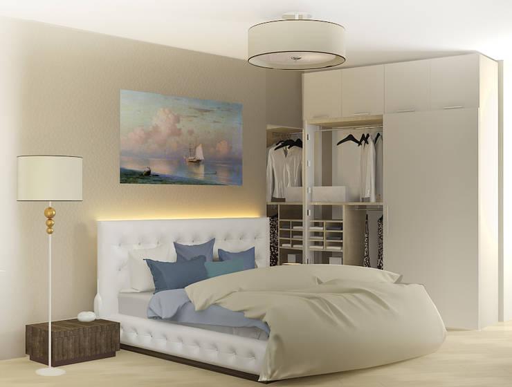 4х комнатная квартира: Спальни в . Автор – Мозжерина Марина , Эклектичный
