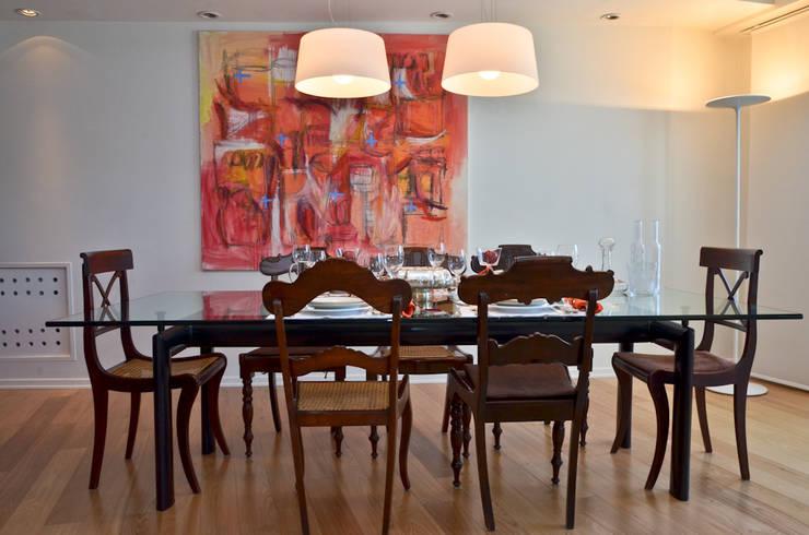Столовые комнаты в . Автор – GUTMAN+LEHRER ARQUITECTAS, Модерн