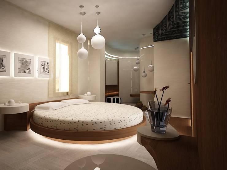teknogrup design – villa: minimal tarz tarz Yatak Odası
