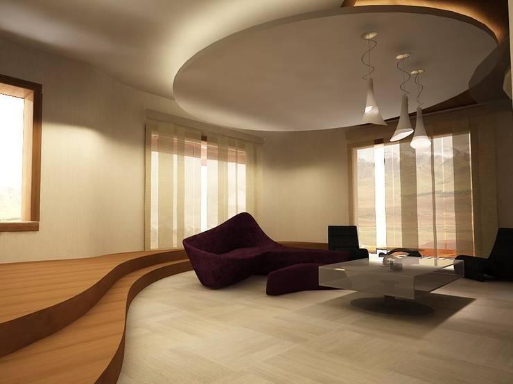 Salas / recibidores de estilo  por teknogrup design