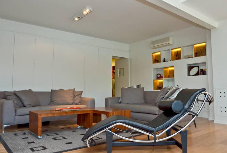 Salon de style  par GUTMAN+LEHRER ARQUITECTAS