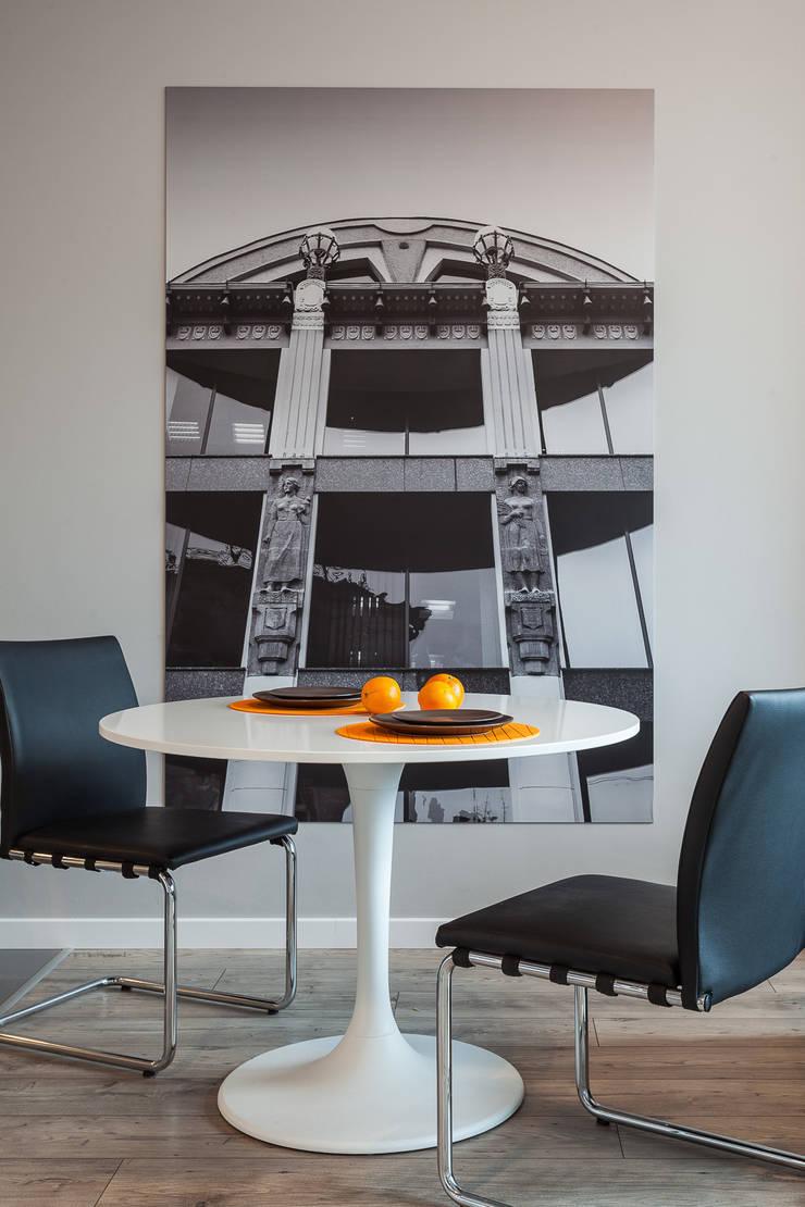 Aneks jadalniany: styl , w kategorii Jadalnia zaprojektowany przez KODO projekty i realizacje wnętrz