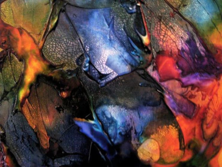 Liquid Crystal: Paredes y pisos de estilo  por Victoria Goren Arte Contemporaneo