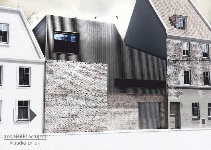 Kamienica Gliwice : styl , w kategorii Domy zaprojektowany przez Architekt wnętrz Klaudia Pniak