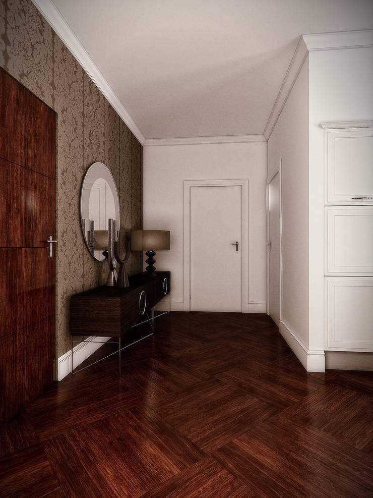Hall: styl , w kategorii Korytarz, przedpokój zaprojektowany przez KODO projekty i realizacje wnętrz