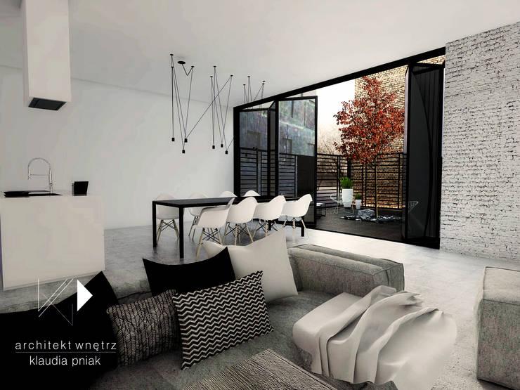 Kamienica Gliwice : styl , w kategorii Jadalnia zaprojektowany przez Architekt wnętrz Klaudia Pniak