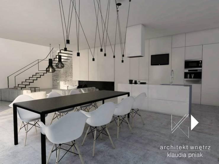 Kamienica Gliwice : styl , w kategorii Kuchnia zaprojektowany przez Architekt wnętrz Klaudia Pniak