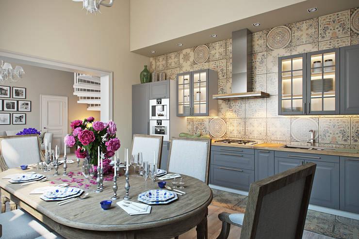 Рай в Шалаше: Кухни в . Автор – Дарья Баранович Дизайн Интерьера