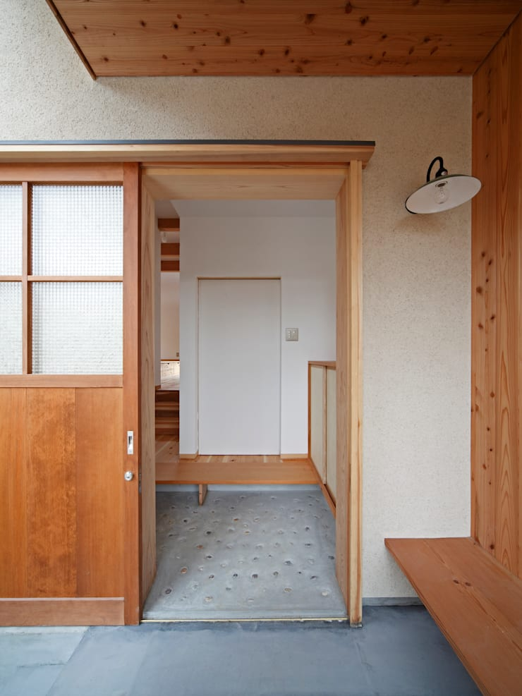 丘リビングの家: 一級建築士事務所 ノセ設計室が手掛けた家です。,オリジナル