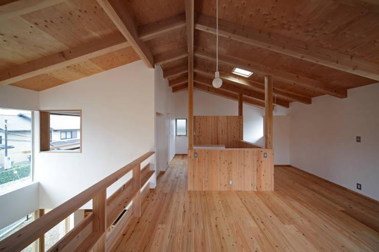 丘リビングの家: 一級建築士事務所 ノセ設計室が手掛けた子供部屋です。