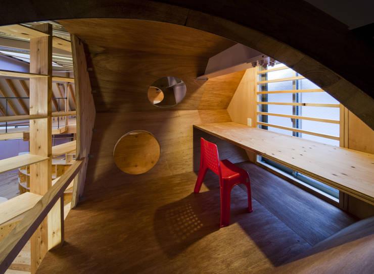 '蜂の巣' : 一級建築士事務所 東島鋭建築設計工房が手掛けた子供部屋です。