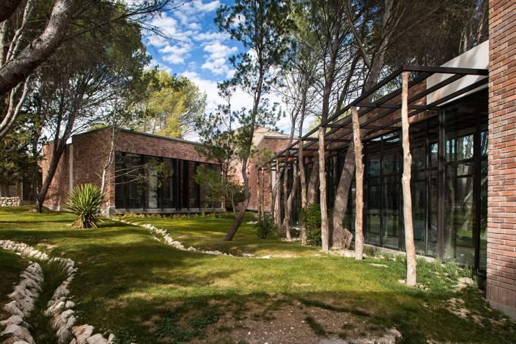 Casa Espiritual: Jardines de estilo moderno por PLADIS