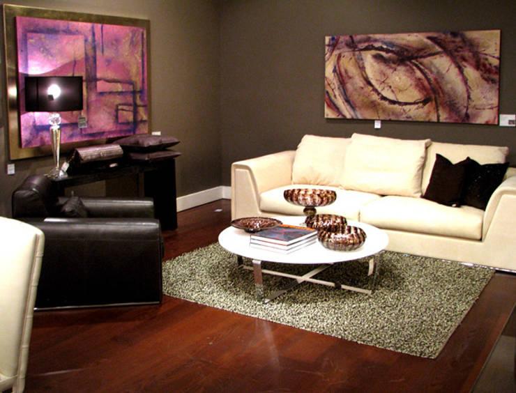Mixta: Salas de estilo  por Victoria Goren Arte Contemporaneo