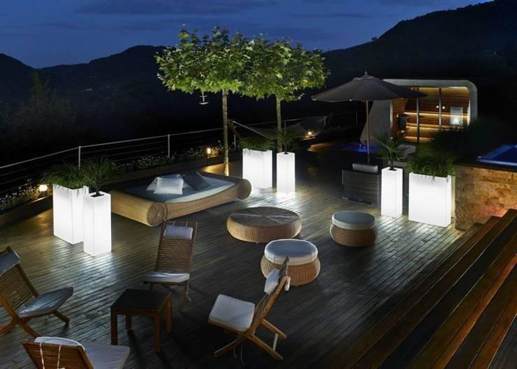 Inspiratie: de mooiste verlichting voor een houten terras