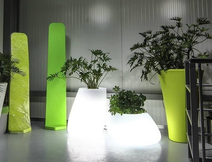 Jardim  por Hydroponika - Wnętrz i zieleń