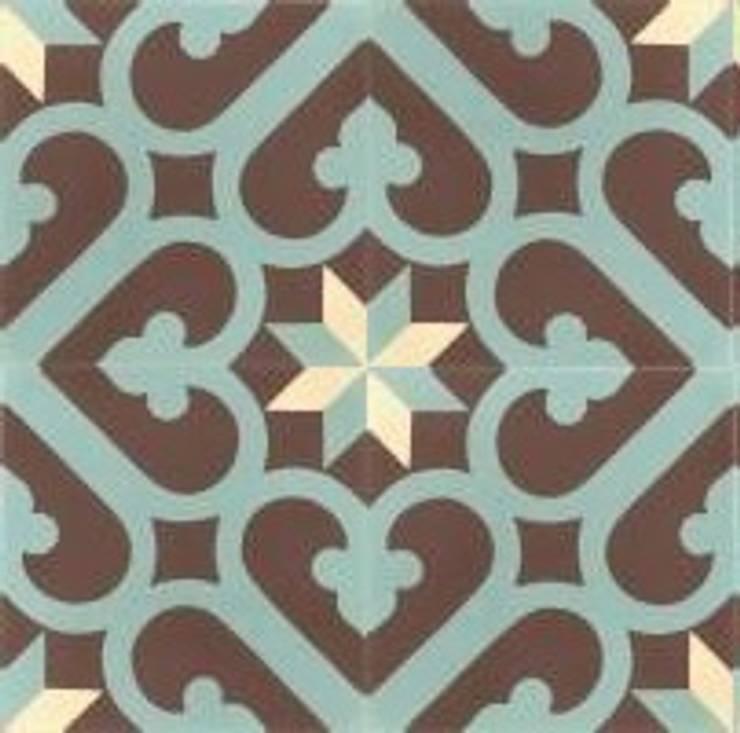 IVAN – cementowe płytki podłogowe: styl , w kategorii Ściany i podłogi zaprojektowany przez Kolory Maroka