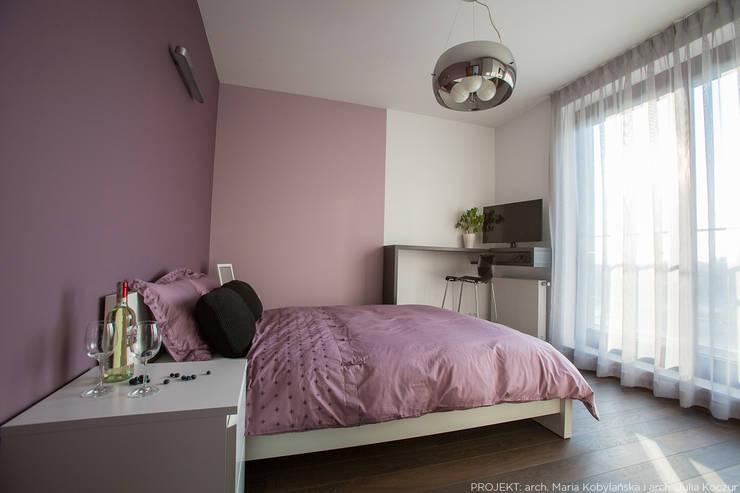 moderne Slaapkamer door LEMUR Architekci